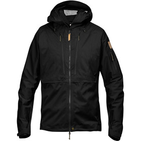 Fjällräven Keb Eco-Shell Jas Heren, black
